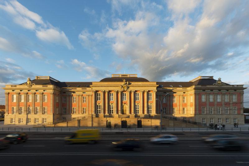 Außenansicht Landtag