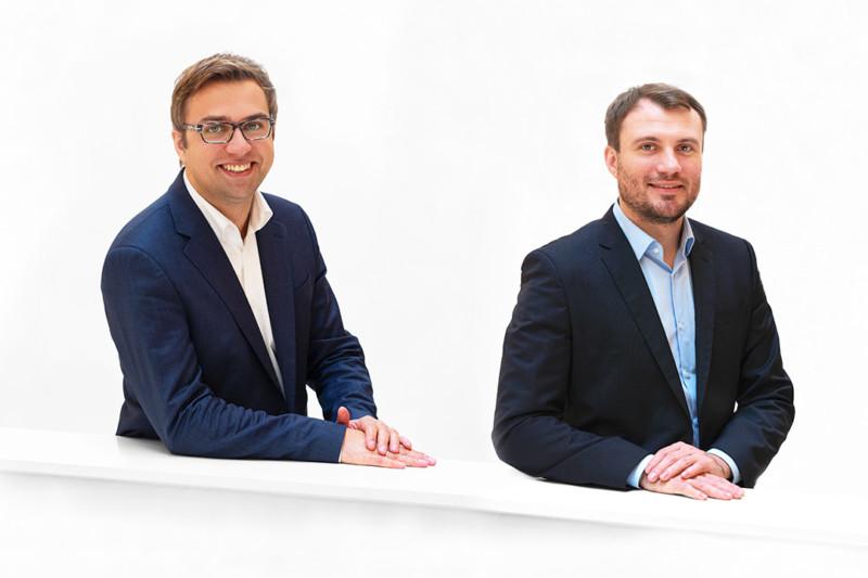 Erik Stohn und Daniel Keller